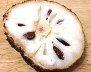 Slice of Soursop Fruit Great Taste - Very Sweet