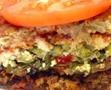 Plant Based-Whole Foods Eggplant Lasagna - Great Tasting!!!
