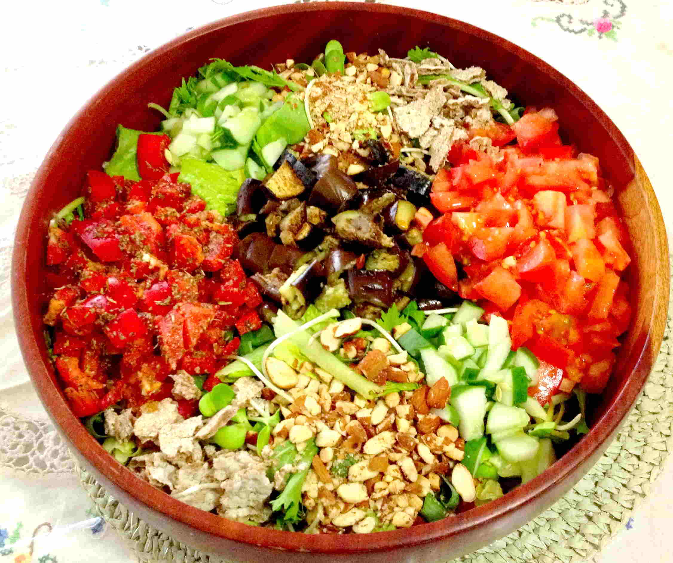 Whole foodsplant based great tasting dinner salad thats healing dinner salad forumfinder Image collections