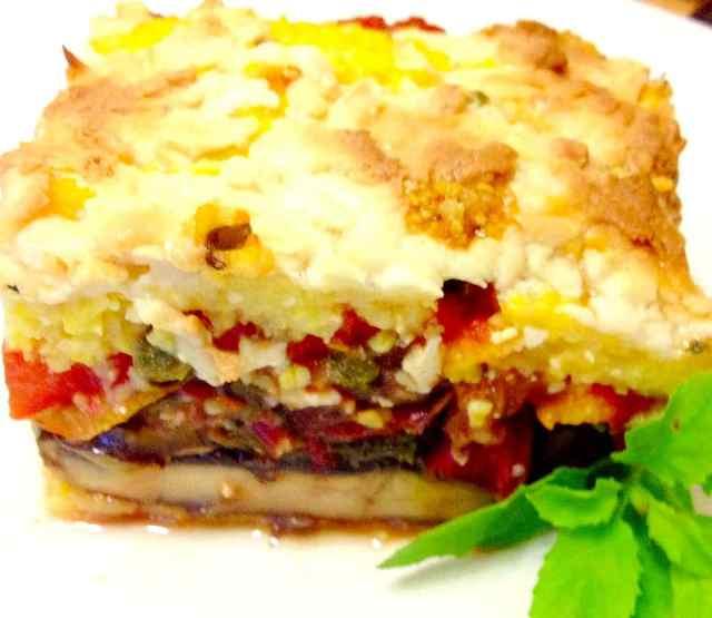 Polenta Torte - Whole Foods & Plant Based
