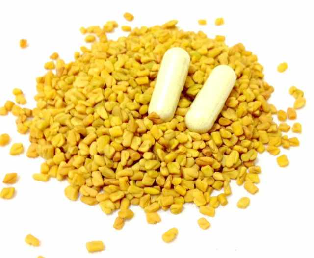 Fenugreek Seeds and Capsules