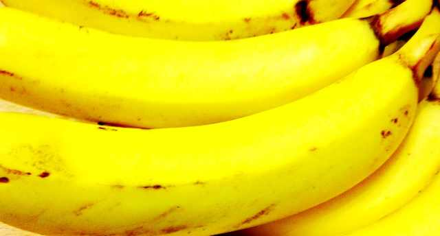 Ripe Banana Skins