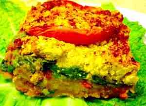 Curried Spinach Casserole