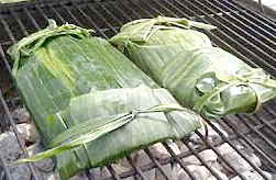 Banana Leaves and Grilling