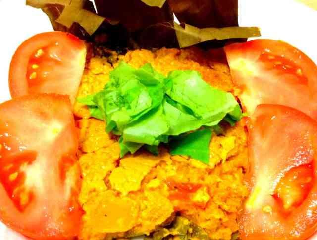 Brown Rice and Pumpkin Casserole