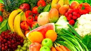 Organic Raw Fruits and Veggies