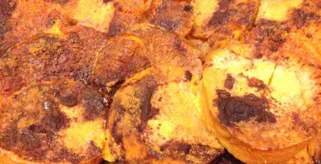 Healthy Holiday Candied Yams