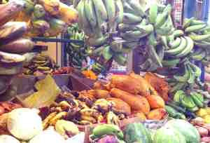 Plantains in Farmers Market