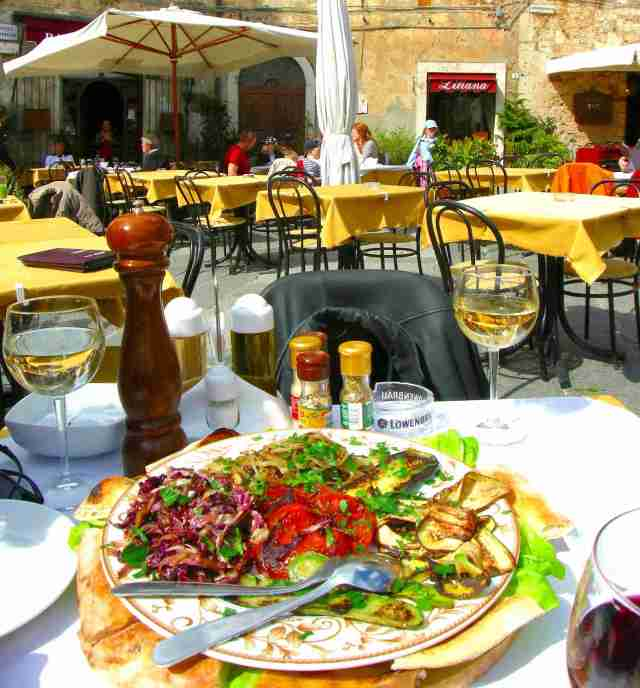 Eating in Italy