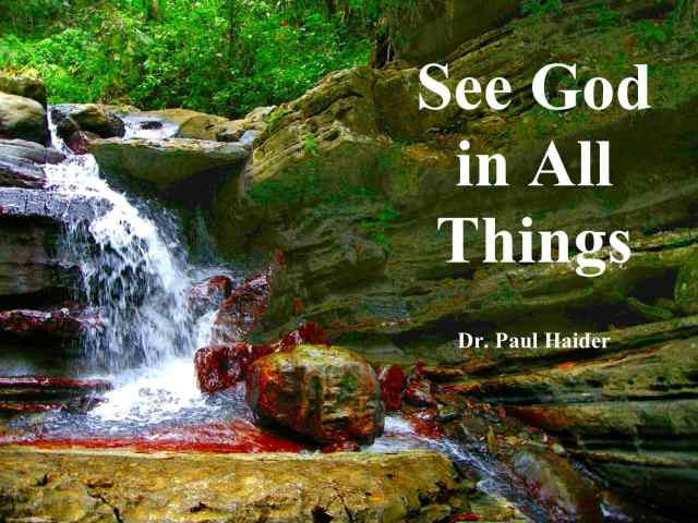 See God in All Things -FB