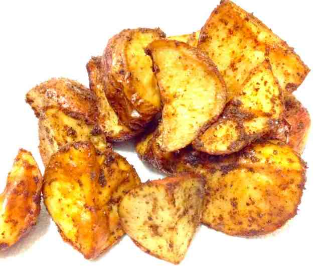 Spicy Oven Roasted Potatoes