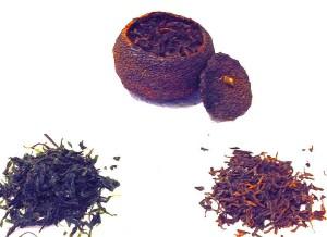 Age Tea in Mandarin Orange, Green Tea, and Black Tea
