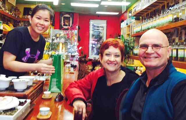 Tea Shop in SF