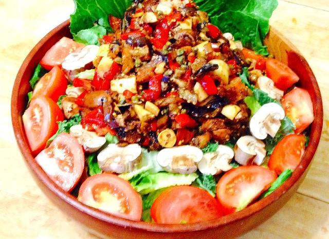 Eggplant Relish Salad