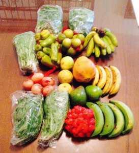 Box of Organic Foods