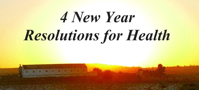 4 New Years Resolutions