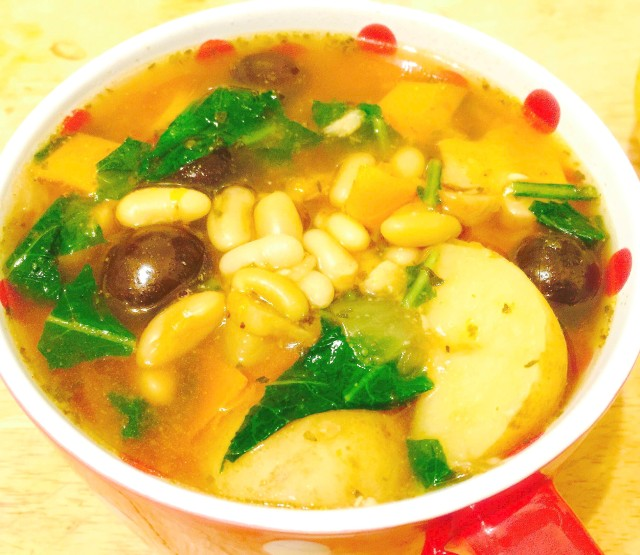 Flageolet Bean Soup