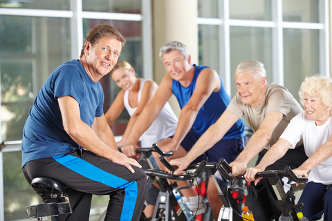 Exercising Seniors