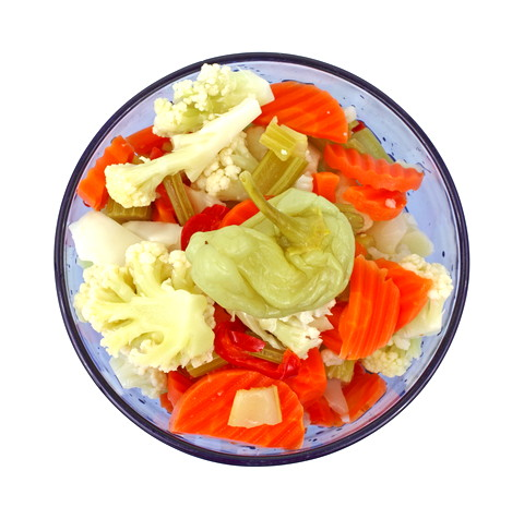 Giardiniera Mix - A Great Probiotic Fermented Food