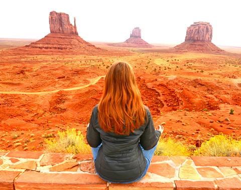 Woman Meditating Utah