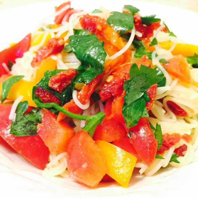 Mandarin Orange Ginger Noodle Salad