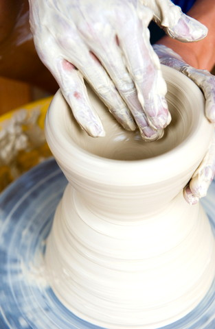 making-pottery