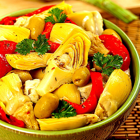 Artichoke Salad is Very Healing and Detoxes the Liver