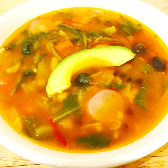 Organic Mexican Soup
