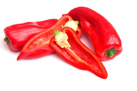 One Type of Paprika Pepper